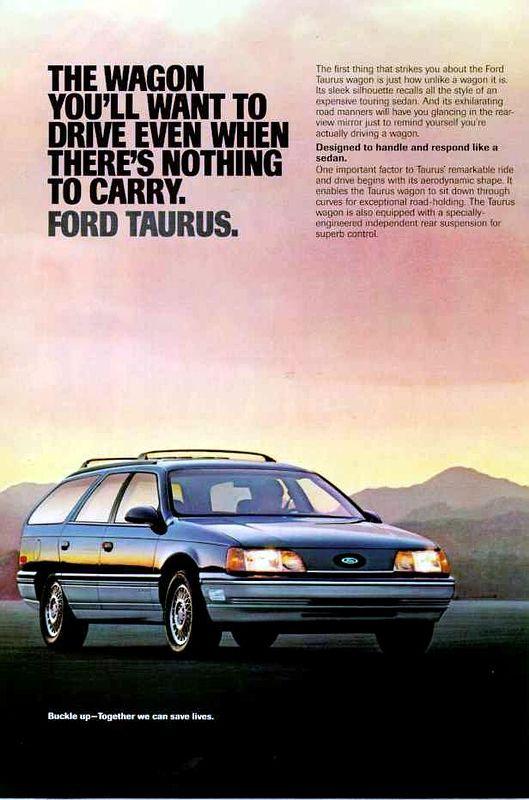 1987 Ford Taurus Wagon