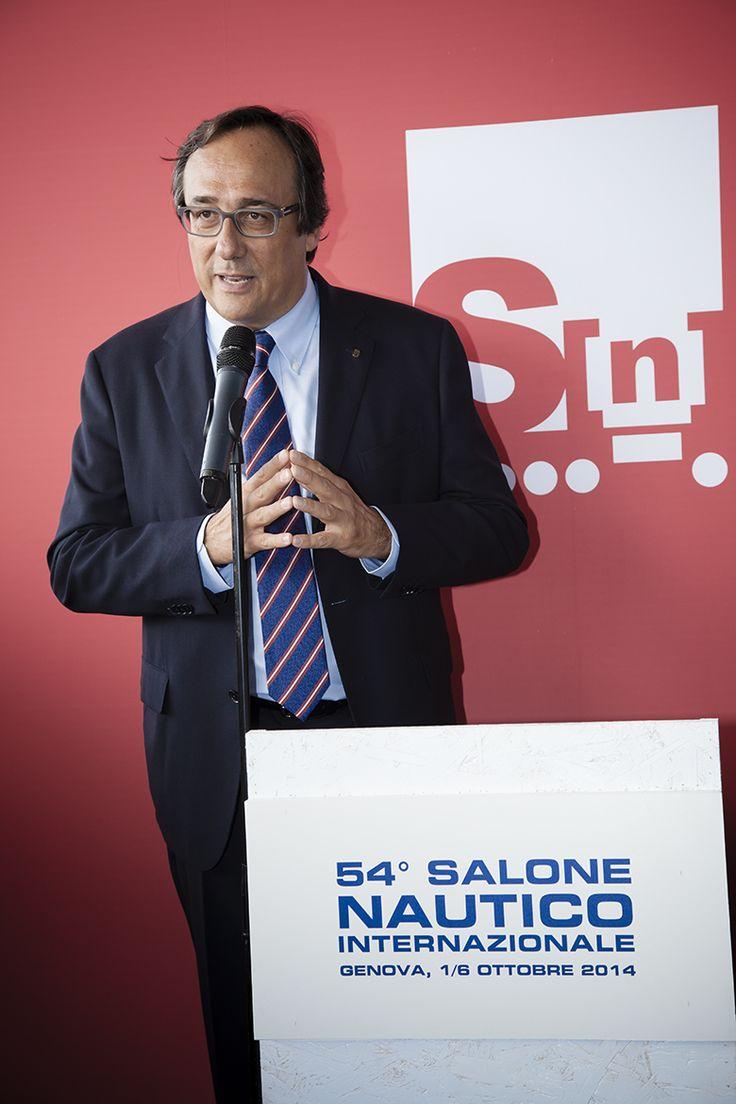 1° anno da Presidente di UCINA - Massimo Perotti - cerimonia inaugurale