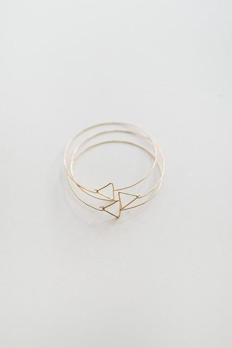 Minimal stacking geometric bracelets / Orn Hansen