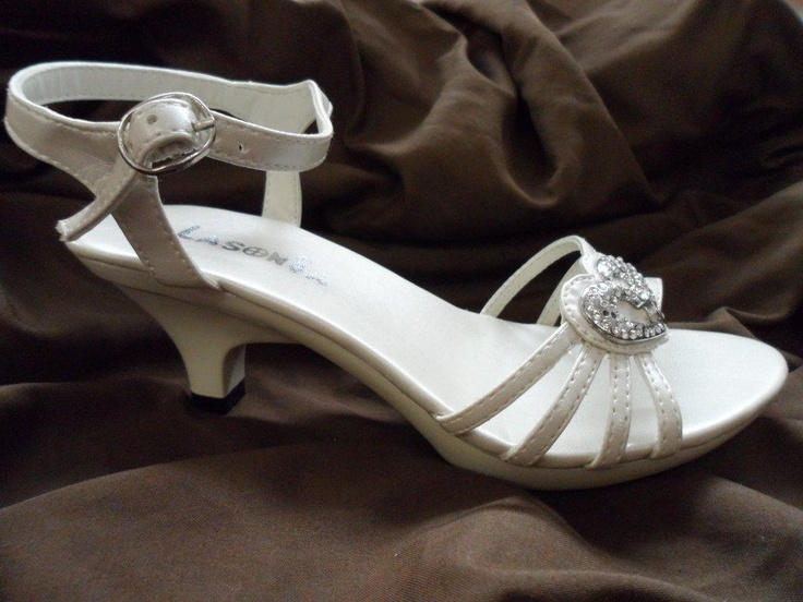 Flower Girl Shoes - Girls Pageant Shoes - Communion Shoes.