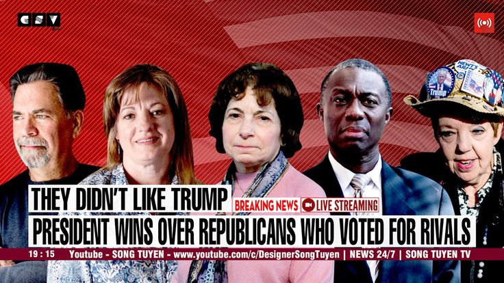CNN BREAKING NEWS | President wins over Republicans who voted for rivals
