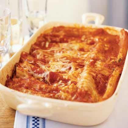 Easy Meatless Manicotti Recipe