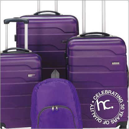 Leisure luggage set