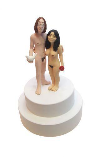Amusing Adult naked cake topper same