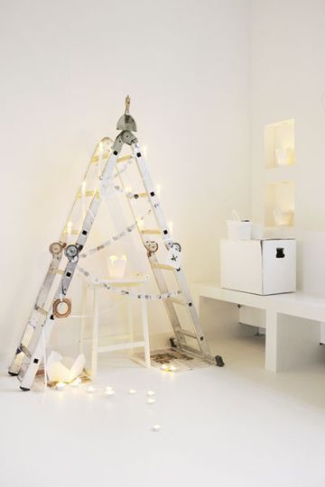 Handyman's alternative holiday tree!! This is my fave!