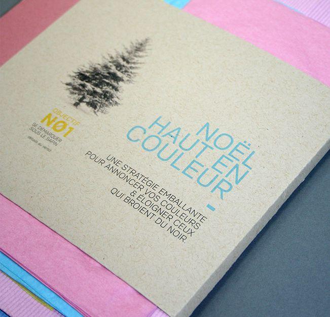Noël Beez 2014 / Emballage cadeau / Beez Créativité Média