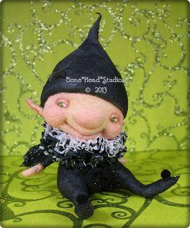 Elfie , spun cotton , elf , imp