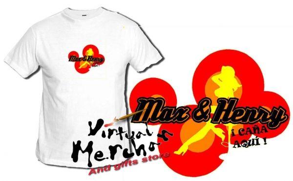Camiseta Max & Henry La Que Se Avecina Antonio Recio Mariscos Amador Salami Lqsa - Bekiro