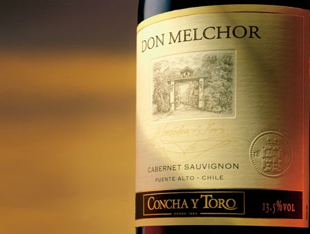Don Melchor, Vino Chileno