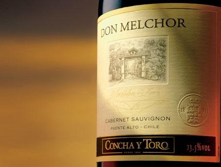 Don Melchor, Vino Chileno