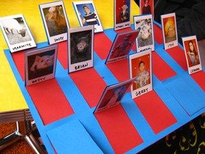 Homemade Guess Who Game without buying Guess Who