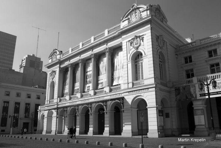 Teatro Municipal de Santiago..El centro cultural más antiguo de Chile #artedelavida