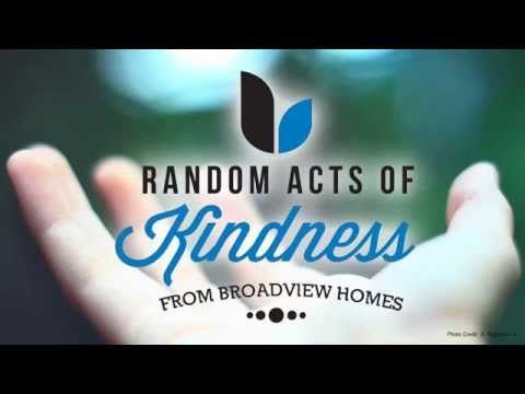 Random Acts of Kindness: Dawn is a single mother who is a real inspiration. #RAOK #community http://www.broadviewhomes.com/calgary/why-broadview/blog