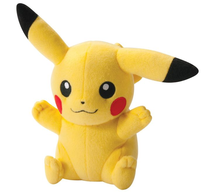 Buy Pokemon Happy Pose Pikachu 8 Inch Plush at Argos.co.uk, visit Argos.co.uk to shop online for Teddy bears and soft toys, Toys