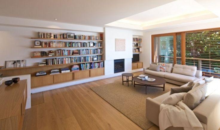 42 salons exquis avec chemin e contemporaine design interieur et salons. Black Bedroom Furniture Sets. Home Design Ideas
