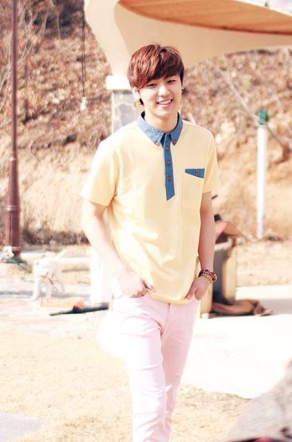 CNBLUE's Minhyuk greets spring with a photo from 'Bang Bang' shoot
