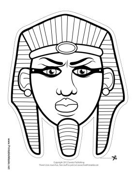 99 best masks images on pinterest printable masks for Egyptian masks templates