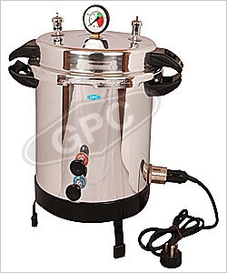 GPC Medical Ltd. is a leading autoclaves - pressure cooker type mirror finish company from India. We are manufacturer, supplier & exporter of medical autoclaves, portable autoclaves, laboratory autoclaves, eschmann autoclaves.