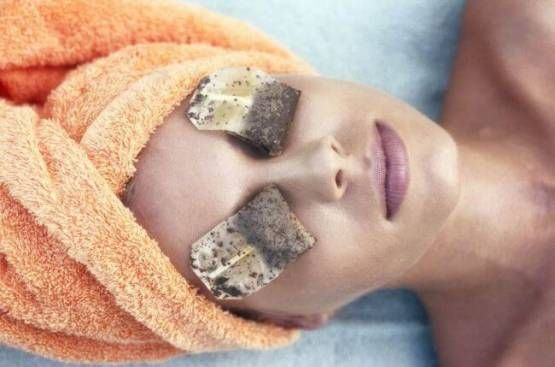 Tee gegen Augenringen - DIY Beautybehandlung