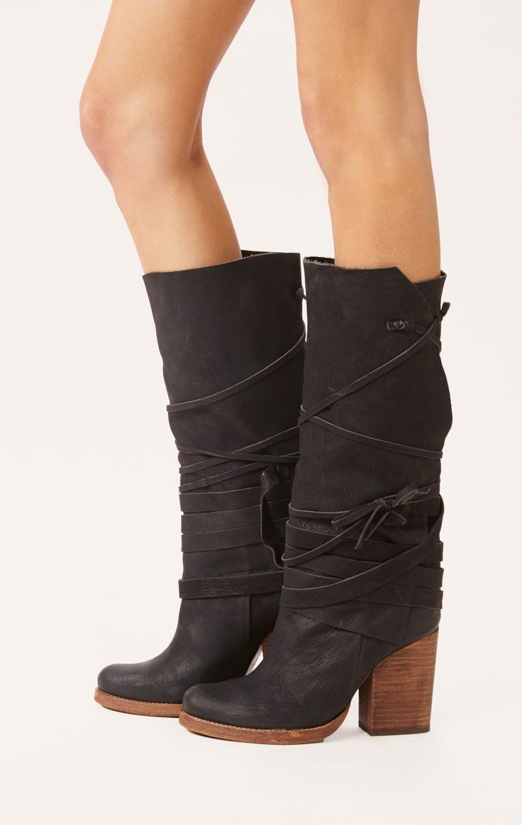 royal rush wrap boot by FREE PEOPLE #planetblue