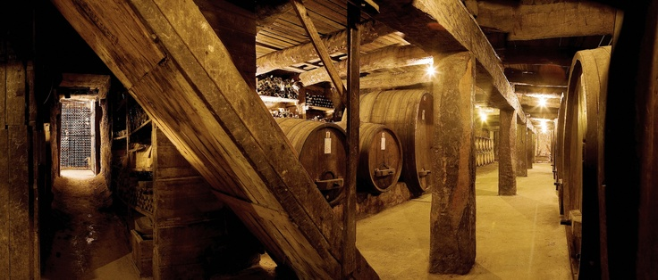 Part of the original cellar at Best's that you can see for yourself on our Cellar Walk