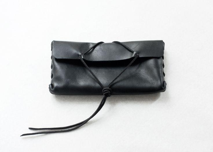Handmade leather pincelcase