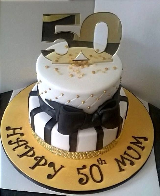 50 th birthday cake for lovely lady