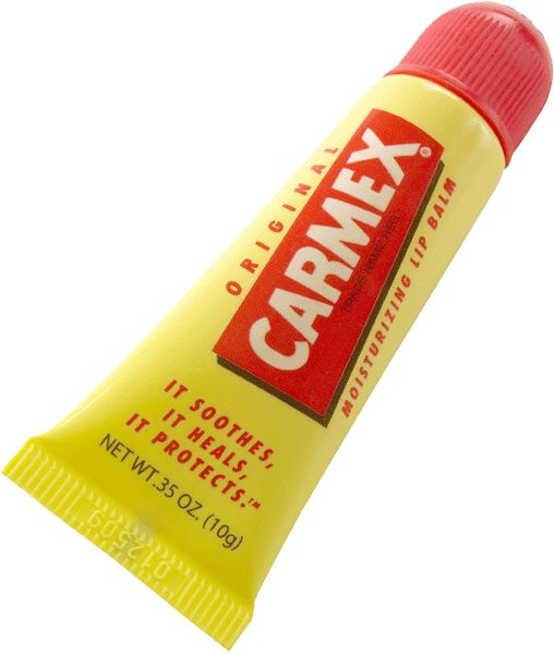 Carmex Lip Balm: .35 oz