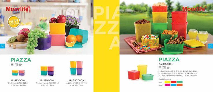 Moorlife Piazza (3 Size option) & Moorlife Piazza set (375.000) Harga diatas belum termasuk discount