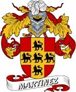 De Martinez Spanish Coat Of Arms www.4crests.com #coatofarms #familycrest…