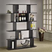 Found it at Wayfair - Hokku Designs Fuzion Bookcase/Display Stand in Black