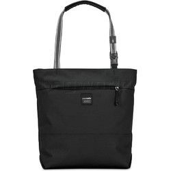 "Pacsafe Slingsafe LX200 RFID Blocking Anti Theft 11"" Laptop or Tablet Compact Tote Black 45215"
