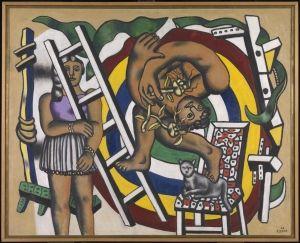 L'Acrobate et sa partenaire (The Acrobat and His Partner) - Fernand Léger - The Athenaeum