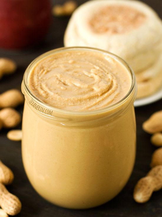 How to make homemade peanut butter – you only need peanuts and a food processor! You'll never want to buy it again. | texanerin.com