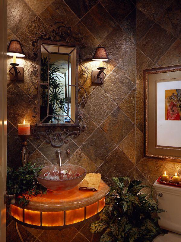 25+ best ideas about Powder room lighting on Pinterest Powder room design, Half bathroom ...