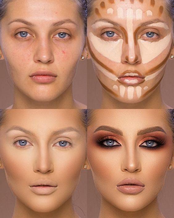 360-Grad-Make-up-Organizer drehen