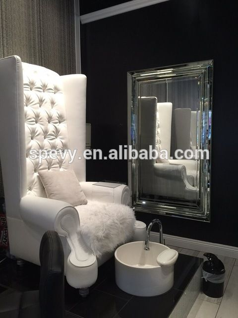 Source top design color optional high back throne spa pedicure chair with ceramic bowl on m.alibaba.com