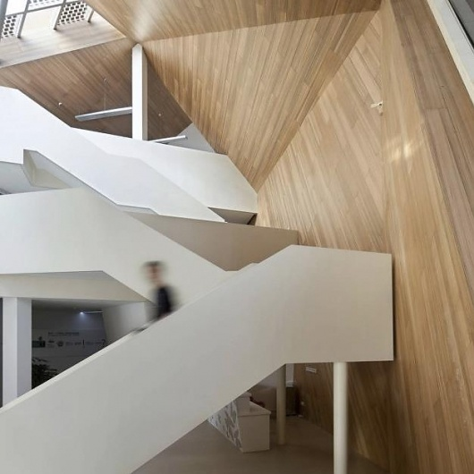 Cocoon / Mochen Architects & Engineers: Ba Architecture, Architecture Buildings, Mochen Architects, Architects Engineering, Architecture Modern, Architecture Masterpiece, Environment Architecture, Installations Architecture, Buildings Architecture