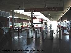 Train Renfe, trajet Aéroport-Centre ville