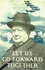 Churchill. Wow, it took seeing this picture to remind me that I had this poster on my dorm wall in college. I had completely forgotten about it.
