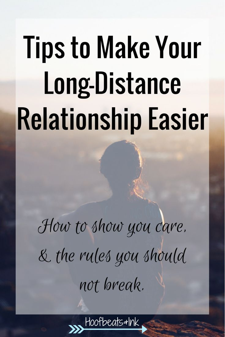 how to begin a long distance relationship