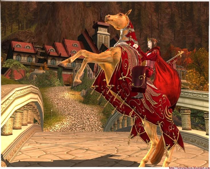 better screenshot of the Reveller's Gilded mount: Reveller S Gilded, Rings Online, Better Screenshot, Gilded Mount