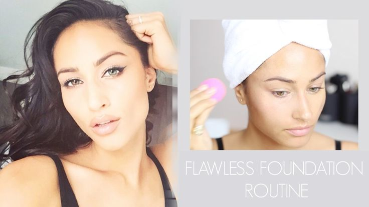 FLAWLESS FOUNDATION ROUTINE TUTORIAL FOR EVERY DAY | NARS ALL DAY LUMINO...