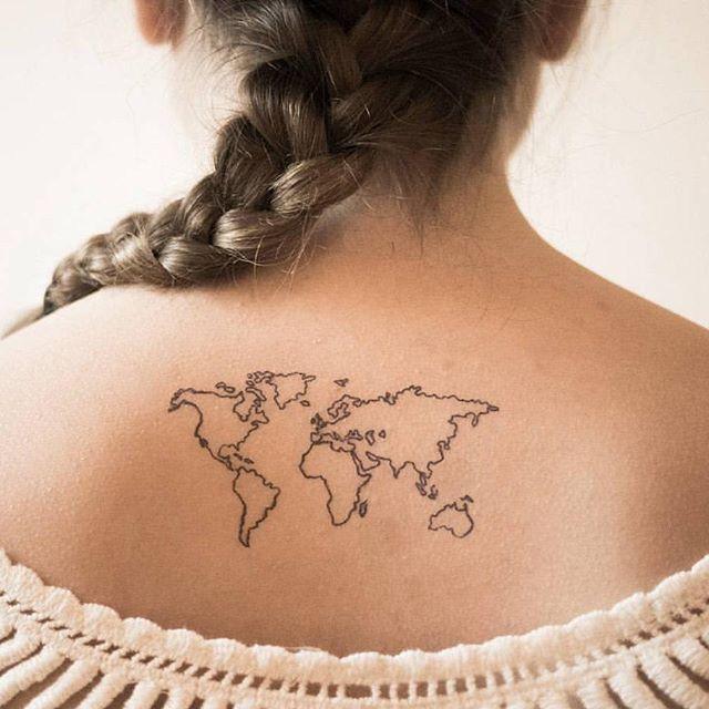 World map tattoo work of art pinterest map tattoos world map tattoo work of art pinterest map tattoos tattoo and tatoo gumiabroncs Choice Image