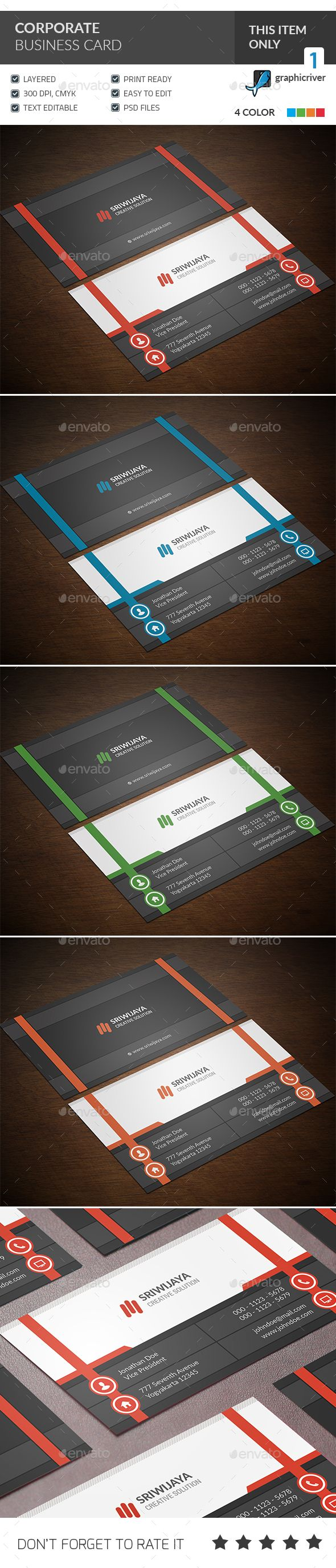 110 best business cards images on pinterest boxes business corporate business card magicingreecefo Choice Image