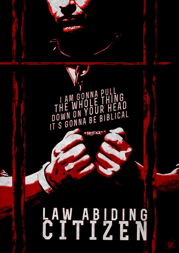 Law Abiding Citizen by Dan Mwangi #minimal #movie #poster
