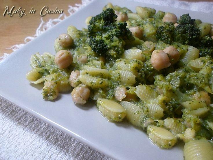 Pasta broccoli e ceci