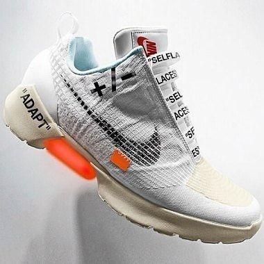 half off c3baf 04761 Nike adapt x off white concept  Stomperkicks  sneakers  kicks   Nike   offwhite  StomperKicks  SK