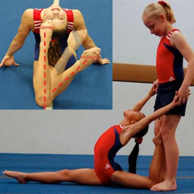 How to teach basic gymnastics skills to kids ... - Pinterest