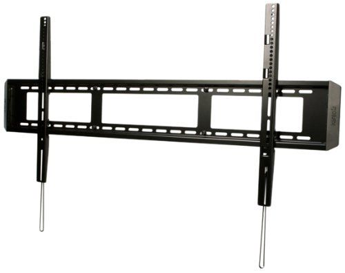 """Kanto F6080 Fixed TV Wall Mount for 60-Inch to 80-Inch Television by Kanto Speakers. $90.51. The F6080 is a high quality fixed mount for flat panel TVs, designed to mount your television within 1"""" of the wall. Constructed of solid steel with a durable powder coated finish, it will hold up to 200 pounds (91 kg). Designed to fit VESA hole patterns from 300 x 300 to 1100 x 600, it provides flexibility to adjust the position of TVs with smaller VESA patterns. Convenient quick r..."""